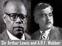 Sir Arthur Lewis and A. R. F. Webber